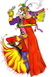 FF6 Kefka Palazzo by DO-anotherstory