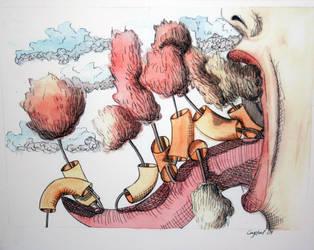 Macaroni and Trees by buchanc3