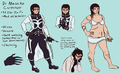 Masako (Other Ref) by Rebelmechwolf