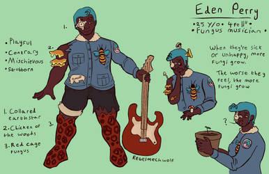 Eden Perry by Rebelmechwolf