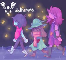 deltarune by StarlightJuice