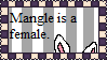 Mangle is a gal.:stamp:. by NightlightWish