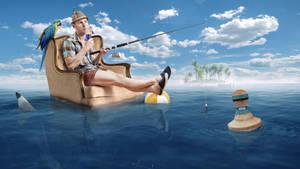 Lets go fishing by Art-Kombinat