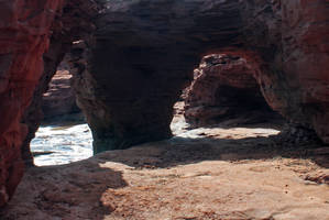 sea caves 4 by LucieG-Stock