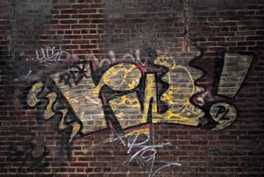 High Line Graffiti by LucieG-Stock