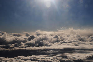 In the clouds by LucieG-Stock