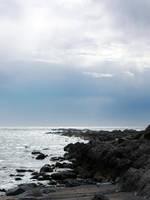 Rocky beach by LucieG-Stock