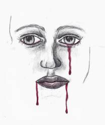 Blood Tears by Voodoo2U