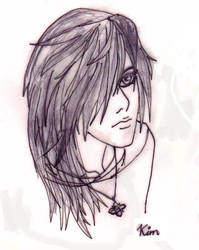 Birthday Fanart for Kira - DNR by illfated-by-kim