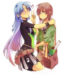 AFO:: Sho and Jo by saiyukiluver