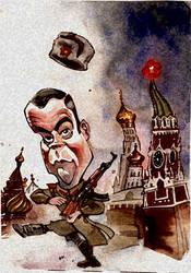 Russian czar by royalcartoons
