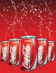 Coke N' Fizz by thewallpostings