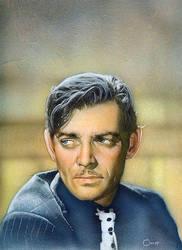 Clark Gable by soakley75