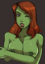 [C] Miss Martian by lufidelis