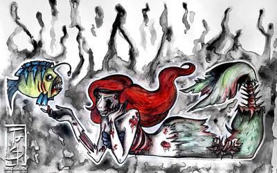 Ariel, the little mermaid by TunCha
