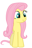Fluttershy - Trying not to laugh by Nyax