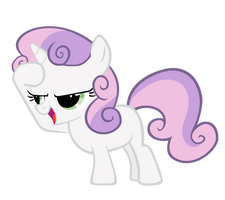 Sweetie Belle - Salute by Nyax