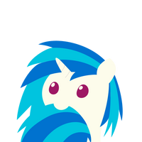 Cotton Candeh Vinyl Scratch by Nyax