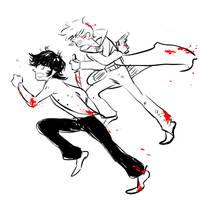 devilman - akira and ryo by jubah