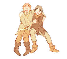 maglor and maedhros by jubah