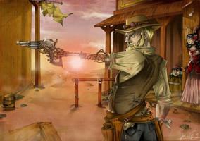 Gunslinger by Nibilondiel