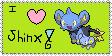 Shinx Stamp by Owlcity4life