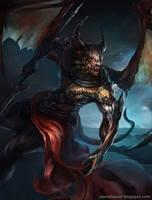 Dark creature by Daniel Lee by Danielllee