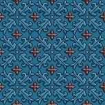 Cinnamon 3D Pixel Pattern by cloud-no9