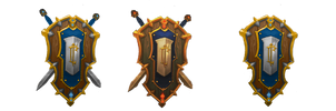 Royal Crest of Lordaeron RECOLOR by miloscub