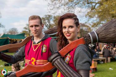 Quidditch Cosplay - Elfia 2017 by Zapphyre