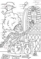 Happy Birthday DA - Egyptian Style by Zapphyre