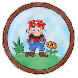 Anxious for a Date - Mario by Zapphyre