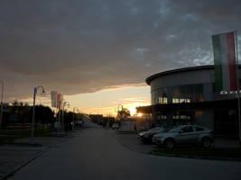 dawn, eating the dark cloud by glanthor-reviol