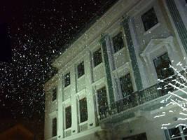 Falling snow, Lloyd by glanthor-reviol