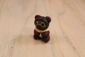 Aviator Bear by chromegoddess