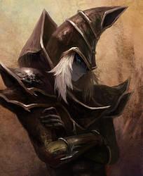 Dark Magician by Sjorym