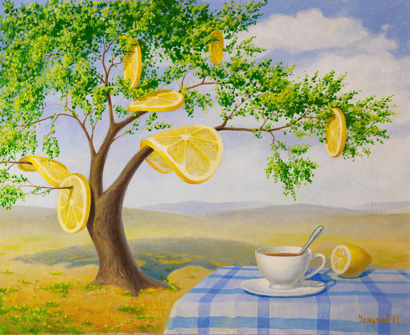lemon tree by VitUrzh