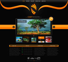 Comy Designs Portfolio Website Design by ComyDesigns