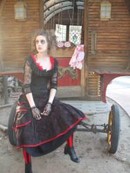 Mrs. Lovett Full Costume by LucyLovett