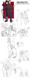 Tony and Sherlock by P-JoArt