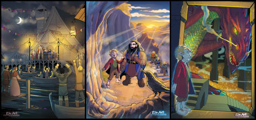 The Hobbit - Chapters 10-11-12 by P-JoArt