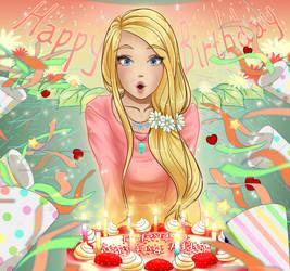 Happy Birthday Cornelia! by Juu-xo