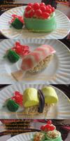 Candy Sushi Day by Katze-Cat-KuroNeko