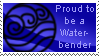 Proud Waterbender by Katze-Cat-KuroNeko