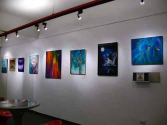 Exhibition at El Atril by andreaarate