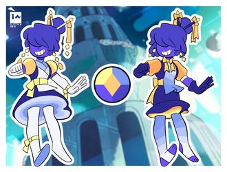 Bi-Color Sapphire by GLiTCH-R