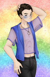 earring magic connor by electrorobo