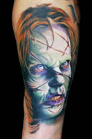 Exorcista BCN by maximolutztattoo