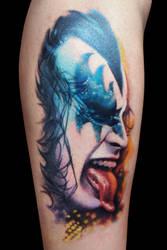 Kiss Gene Simmons by maximolutztattoo