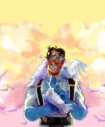 blu medic by Katze-Doshi